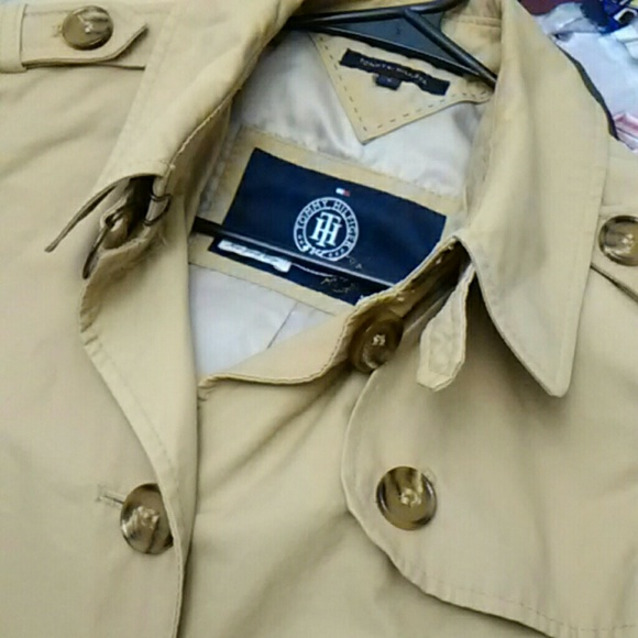 Tommy Hilfiger Jackets & Blazers - Classic Short Trench Coat Tommy Hilfiger Size S